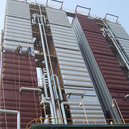 上海梅钢能环部管道及钢结构防腐工程