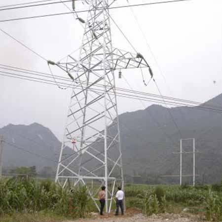 柳州供电局500KV沙塘变电站防腐施工