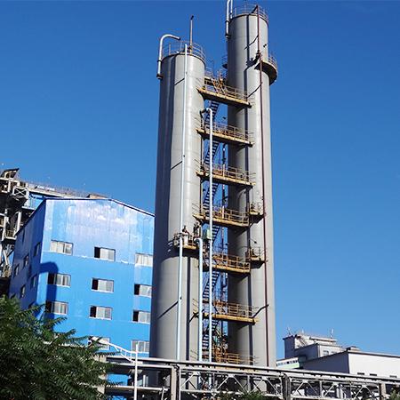 能源部炼钢厂管道平台防腐