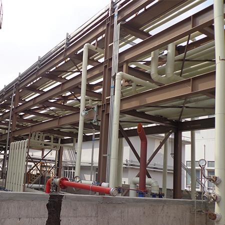 上海梅山钢铁股份有限公司能源部管道平台防腐工程
