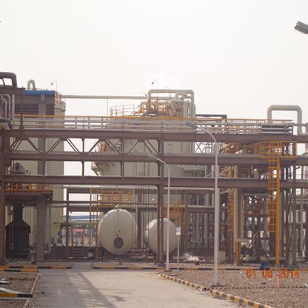 上海梅山股份有限公司三加压区域管道钢结构防腐工程